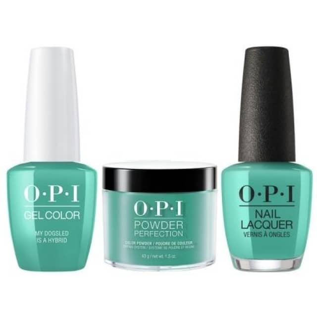OPI COMBO 3 in 1 Matching - GCN45A-NLN45-DPN45 My Dogsled is a Hybrid