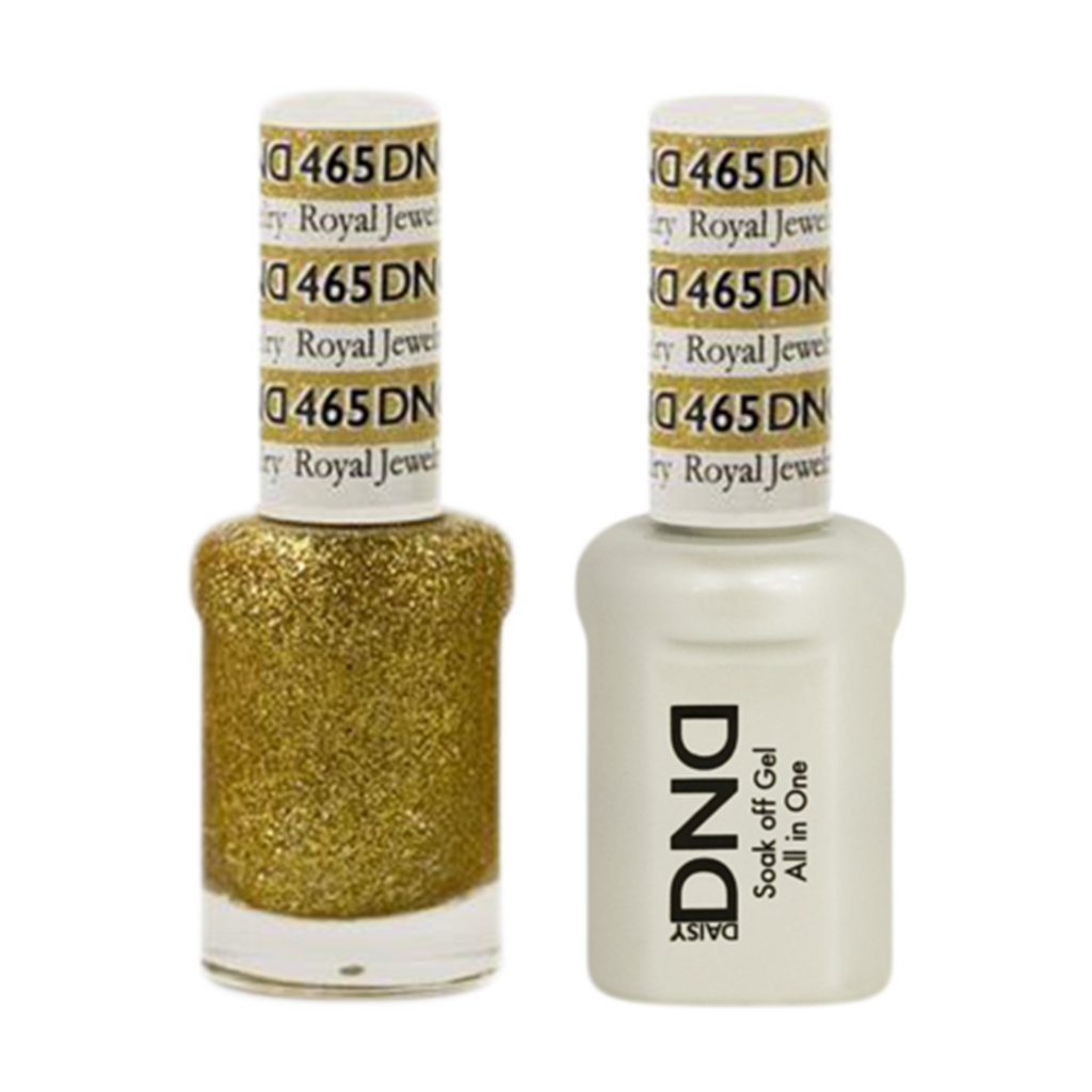 Daisy DND - Gel & Lacquer Duo - 465 Royal Jewelry