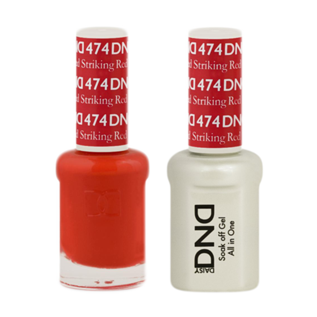 Daisy DND - Gel & Lacquer Duo - 474 Striking Red