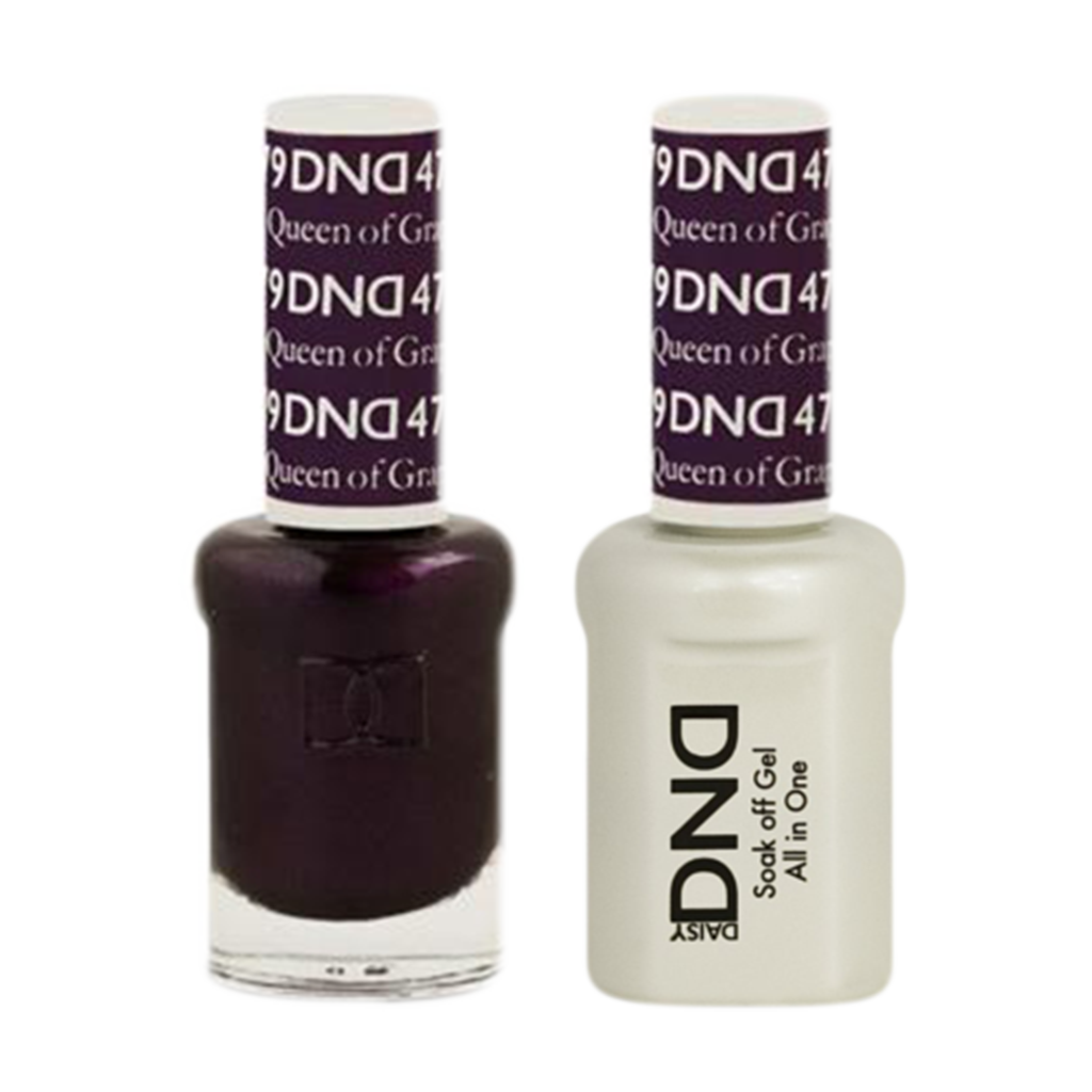 Daisy DND - Gel & Lacquer Duo - 479 Queen Of Grape