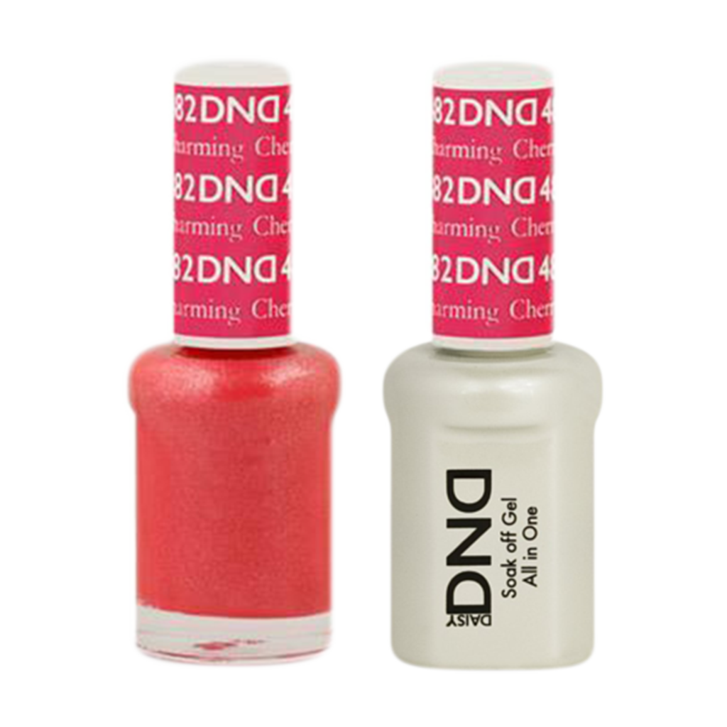 Daisy DND - Gel & Lacquer Duo - 482 Charming Cherry