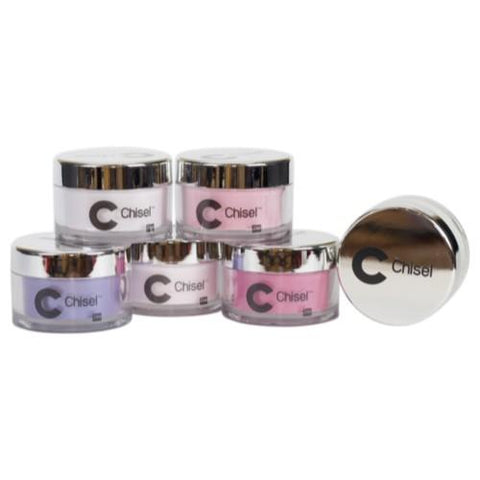 Chisel Nail Art - Dipping Powder -2 OZ  Ombré A, B Collection Full Line Of 48 Colors A, 48 Colors B