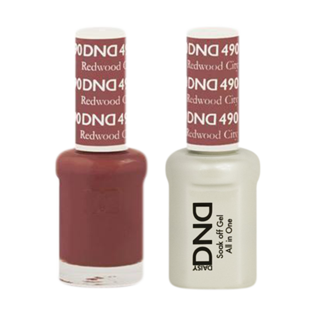 Daisy DND - Gel & Lacquer Duo - 490 Redwood City