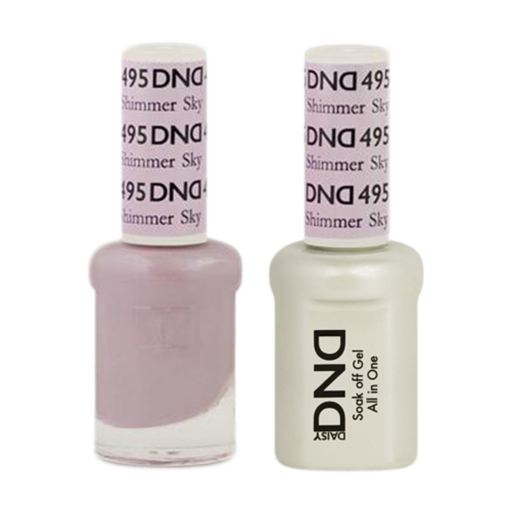 Daisy DND - Gel & Lacquer Duo - 495 Shimmer Sky