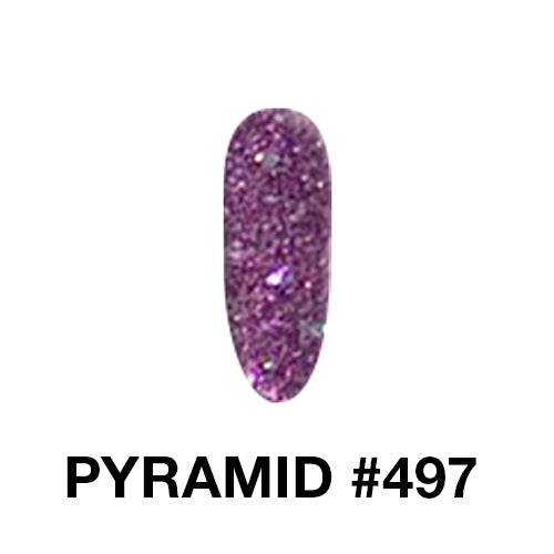 Pyramid  2 in 1 - Acrylic / Dip Powder 2 oz  - Private color 445 To 504