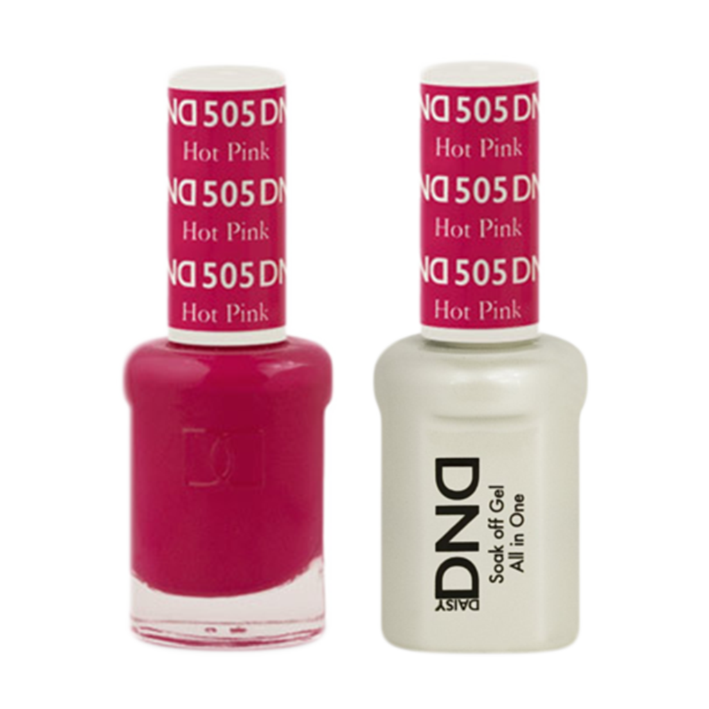 Daisy DND - Gel & Lacquer Duo - 505 Hot Pink
