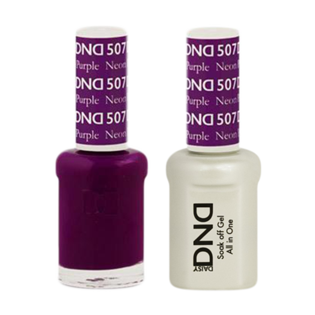 Daisy DND - Gel & Lacquer Duo - 507 Neon Purple