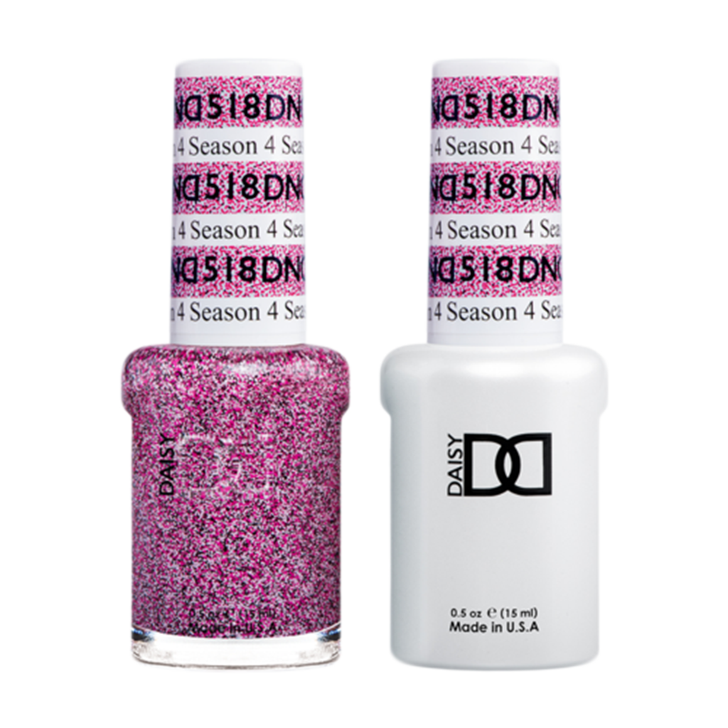 Daisy DND - Gel & Lacquer Duo - 518 4 Season