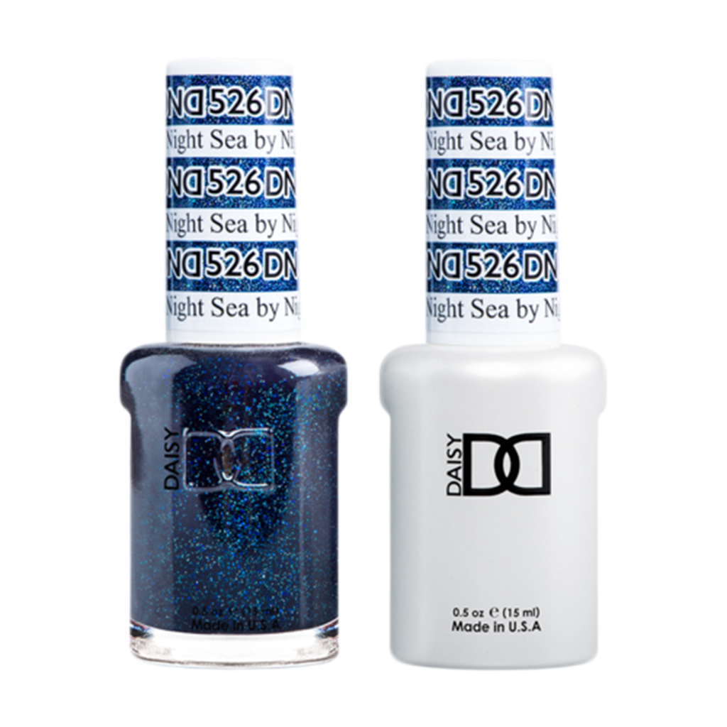 Daisy DND - Gel & Lacquer Duo - 526 Sea By Night