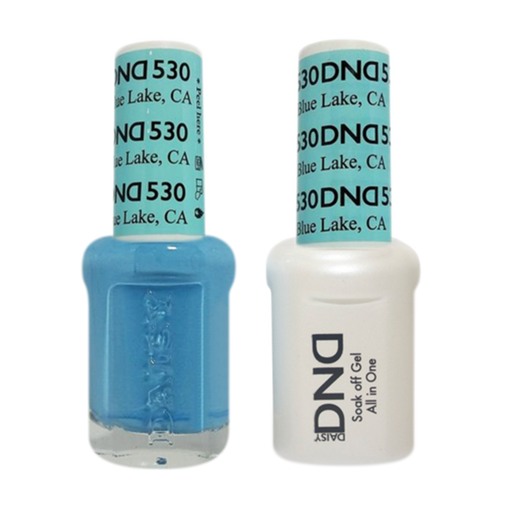 Daisy DND - Gel & Lacquer Duo - 530 Blue Lake, CA