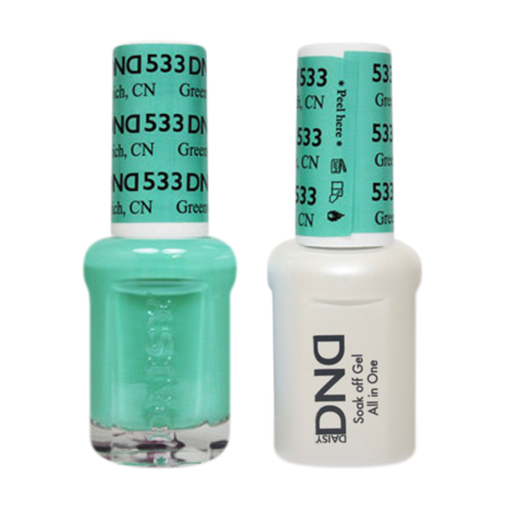 Daisy DND - Gel & Lacquer Duo - 533 Greenwich, CN