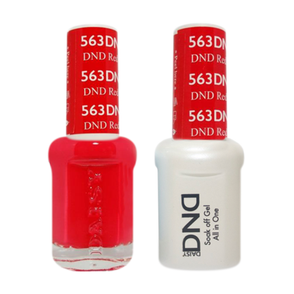 Daisy DND - Gel & Lacquer Duo - 563 DND Red