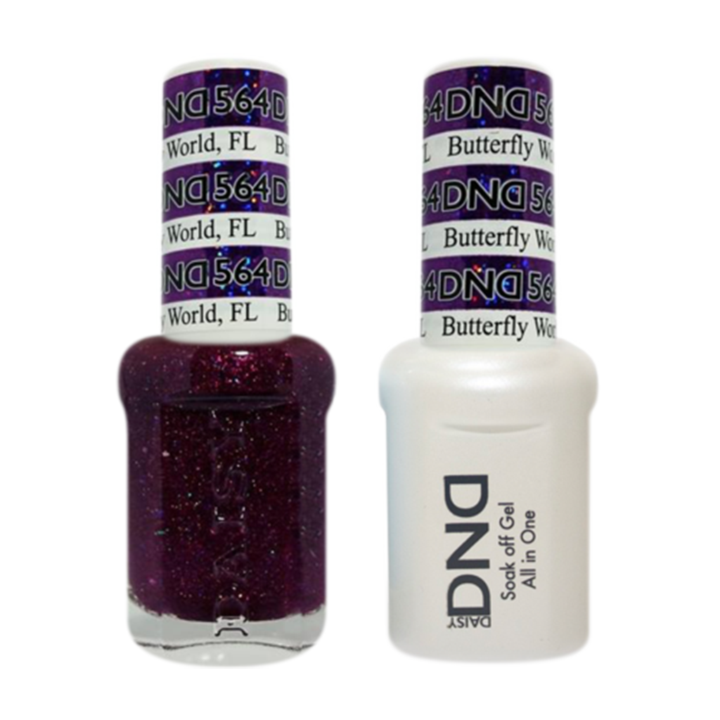 Daisy DND - Gel & Lacquer Duo - 564 Butterfly World, FL