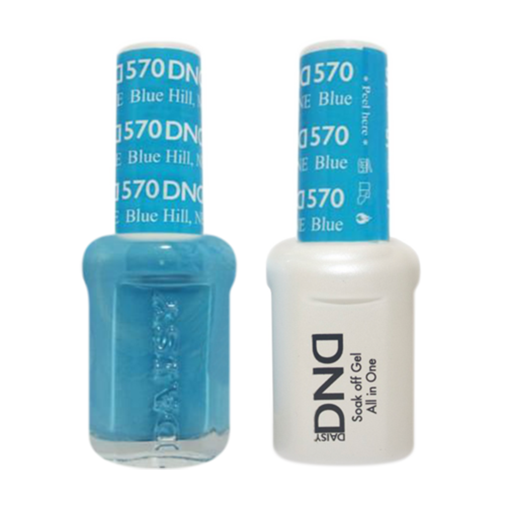 Daisy DND - Gel & Lacquer Duo - 570 Blue Hill, NE