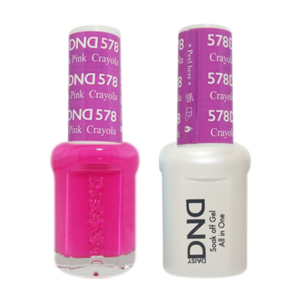 Daisy DND - Gel & Lacquer Duo - 578 Crayola Pink