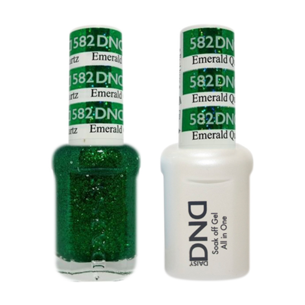 Daisy DND - Gel & Lacquer Duo - 582 Emerald Quartz