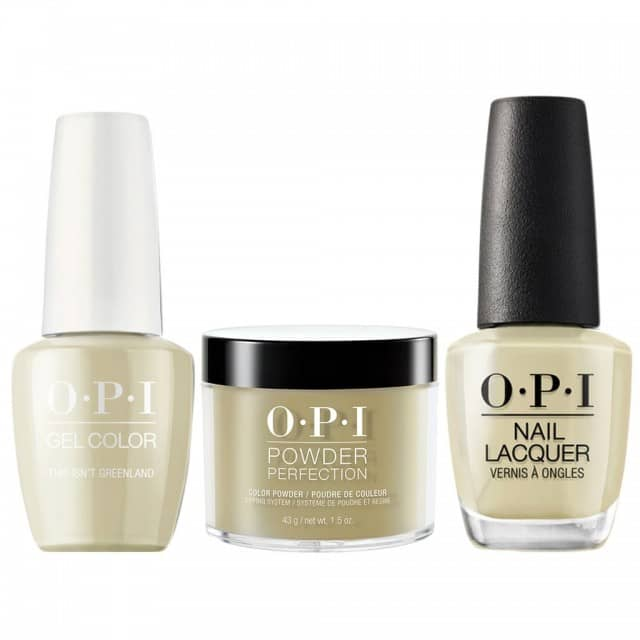 OPI COMBO 3 in 1 Matching - GCI58-NLI58-DPI58 This Isn't Greenland