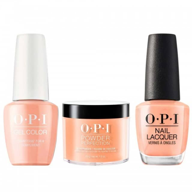 OPI COMBO 3 in 1 Matching - GCN58A-NLN58-DPN58 Crawfishin' for a Compliment