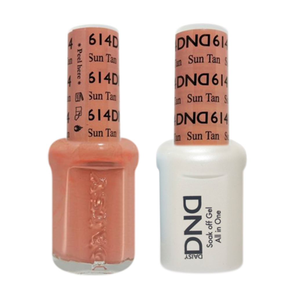 Daisy DND - Gel & Lacquer Duo - 614 Sun Tan