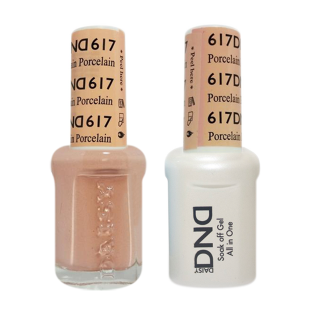 Daisy DND - Gel & Lacquer Duo - 617 Porcelain
