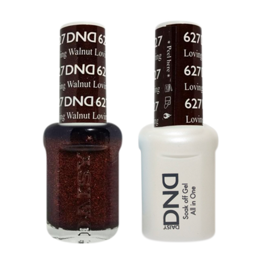 Daisy DND - Gel & Lacquer Duo - 627 Loving Walnut