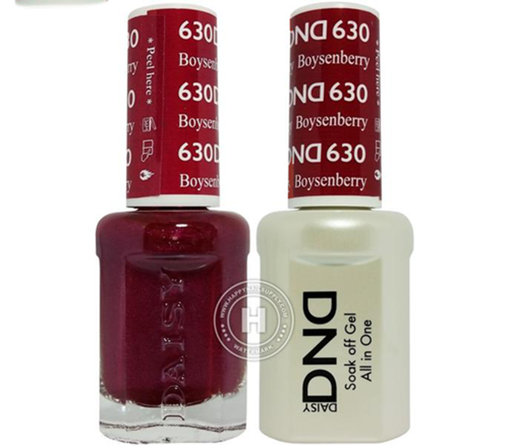 Daisy DND - Gel & Lacquer Duo - 630 Boysenberry