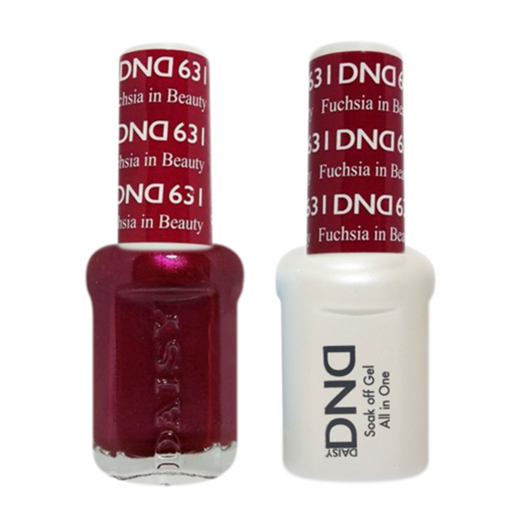 Daisy DND - Gel & Lacquer Duo - 631 Fuchsia in Beauty