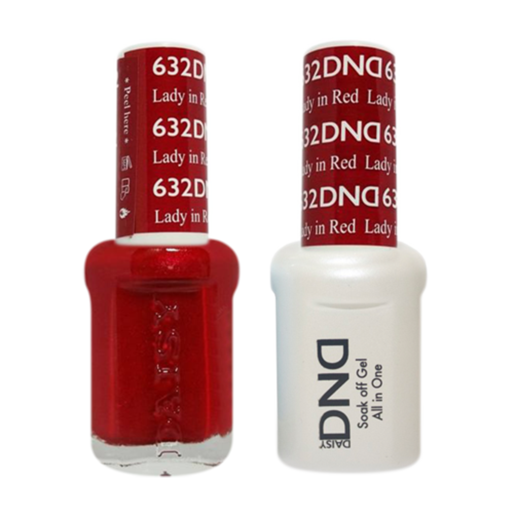 Daisy DND - Gel & Lacquer Duo - 632 Lady In Red