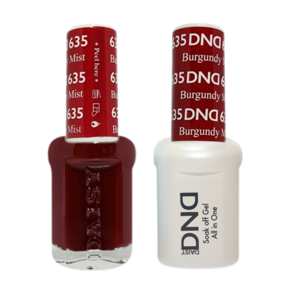 Daisy DND - Gel & Lacquer Duo - 635 Burgundy Mist