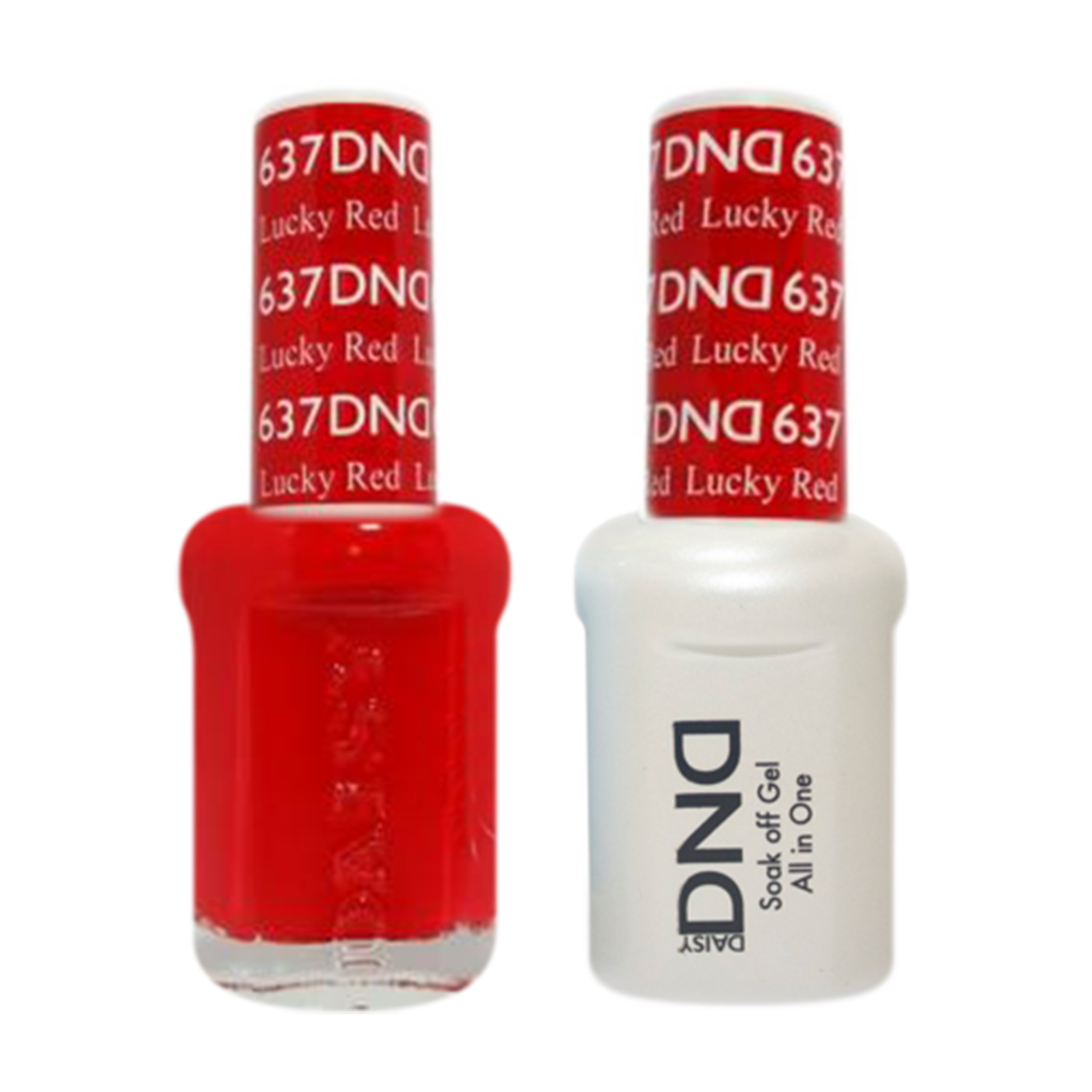 Daisy DND - Gel & Lacquer Duo - 637 Lucky Red