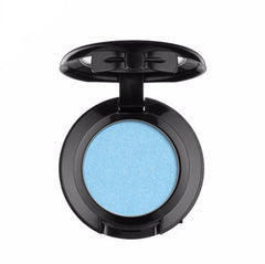 NYX - Hot Singles Eyeshadow - Kandi - Sky Blue With Silver Shimmer