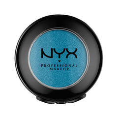 NYX - Hot Singles Eyeshadow - Turnt Up - Pearly Bright Blue