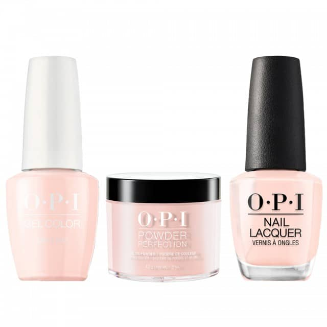 OPI COMBO 3 in 1 Matching - GCS86A-NLS86-DPS86 Bubble Bath