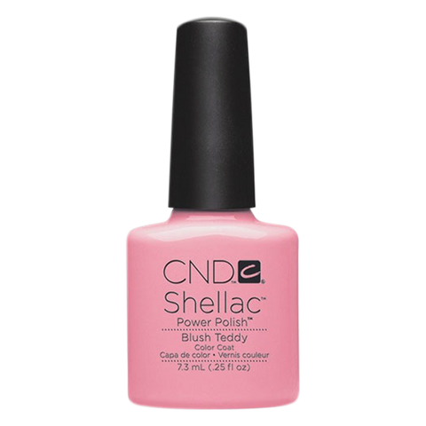 CND Shellac - Soak Off Gel .25 oz - Blush Teddy
