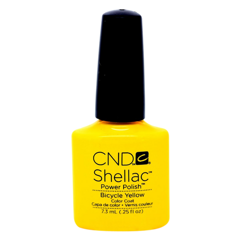 CND Shellac - Soak Off Gel .25 oz - Bicycle Yellow