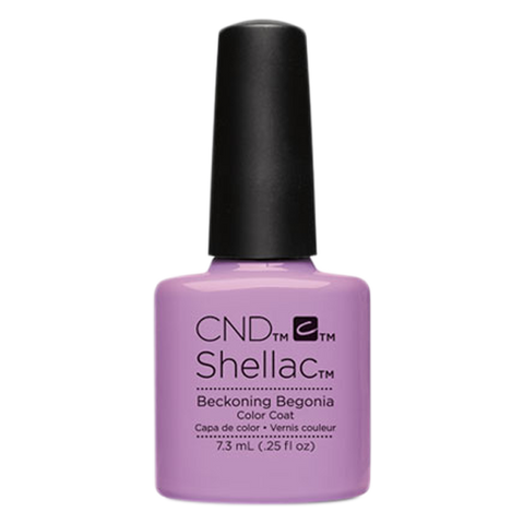 CND Shellac - Soak Off Gel .25 oz - Beckoning Begonia