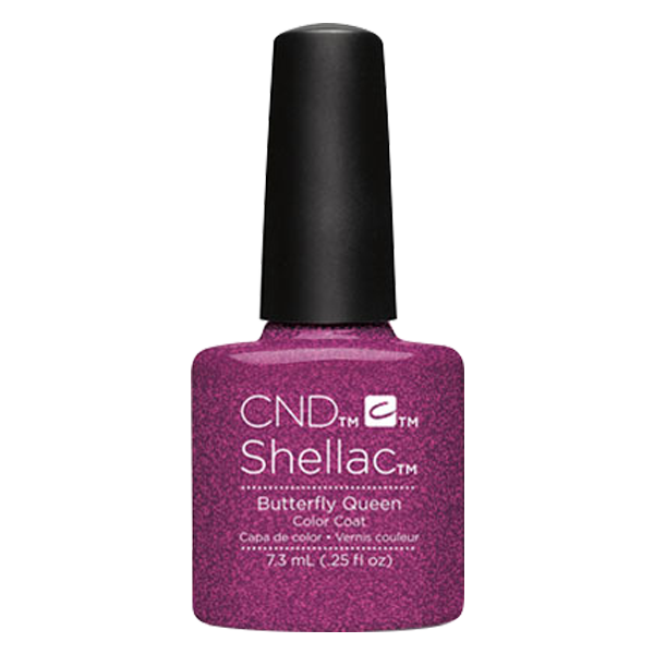 CND Shellac - Soak Off Gel .25 oz - Butterfly Queen