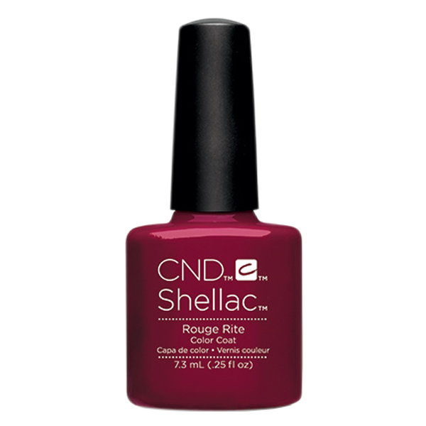 CND Shellac - Soak Off Gel .25 oz - Rouge Rite