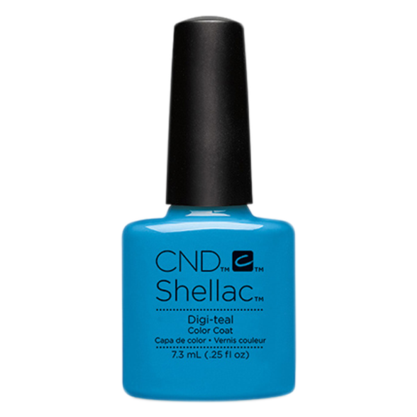 CND Shellac - Soak Off Gel .25 oz - Digi-teal