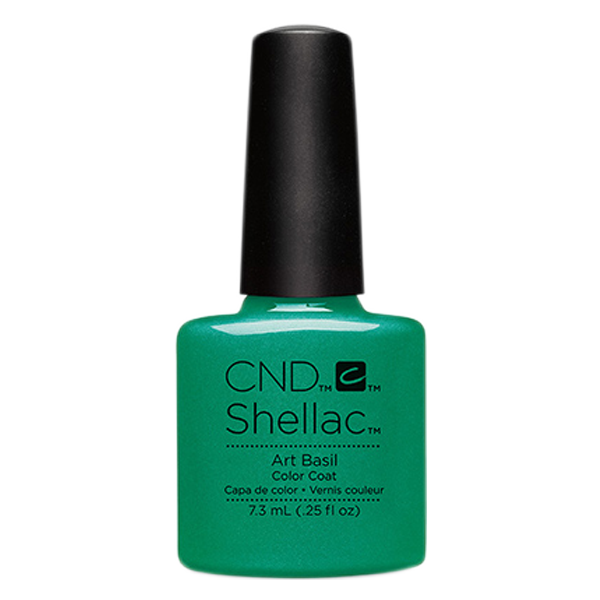 CND Shellac - Soak Off Gel .25 oz - Art Basil