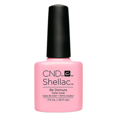 CND Shellac - Soak Off Gel .25 oz - Be Demure