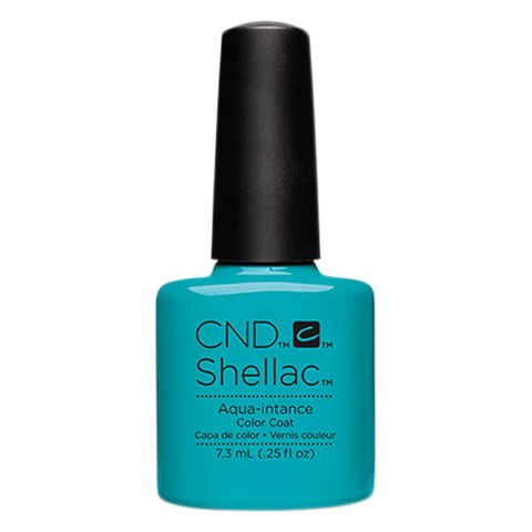 CND Shellac - Soak Off Gel .25 oz - Aqua-intance