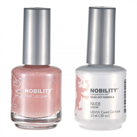 Nobility Gel Polish & Nail Lacquer, Nude