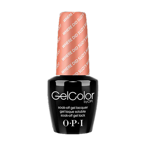 OPI Gel Colors - Where Did Suzi's Man Go? - GC A66