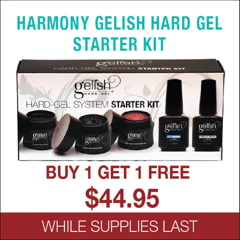 Harmony Gelish Hard Gel Starter Kit - Buy 1 get 1 free