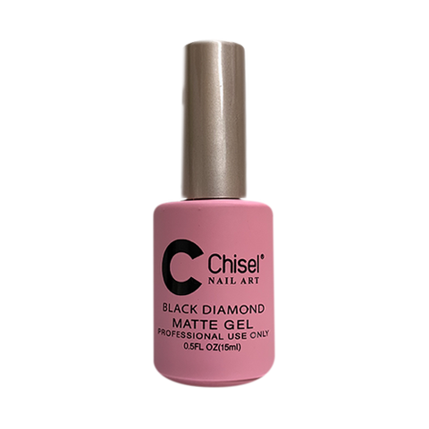 Chisel Black Diamond Matte Gel, 0.5oz