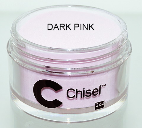 Chisel Nail Art - Dipping Powder - DARK PINK