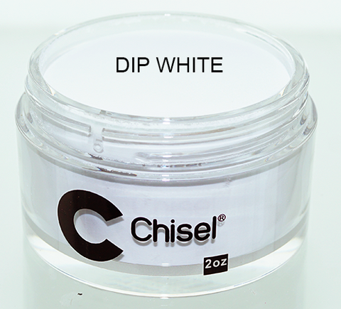 Chisel Nail Art - Dipping Powder - DIP WHITE