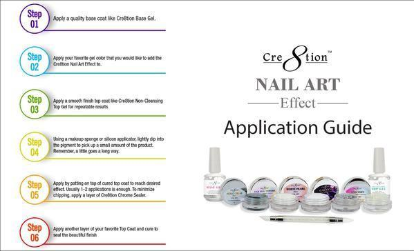 Cre8tion - Nail Art Unicorn Effect 08- 1g