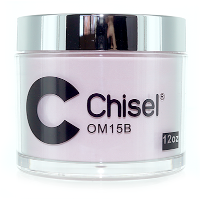 Chisel Nail Art - Dipping Powder - Pink & White Collection - 0M15B